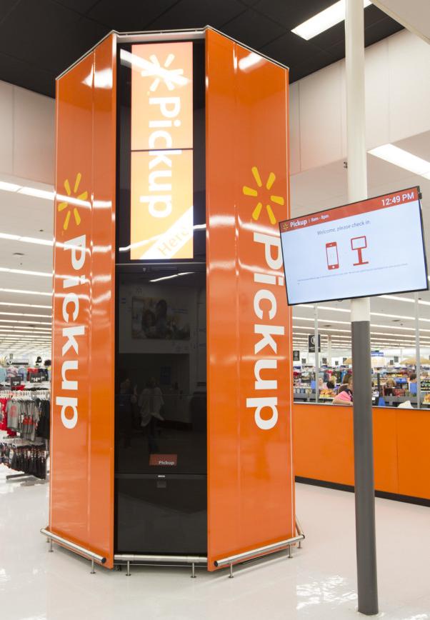 Walmart In-Store Pickup