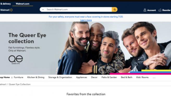 Walmart Queer Eye