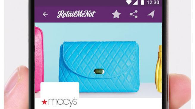 RetailMeNot 'In-Store Cash Back Offers