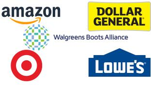 Retailers with Statements